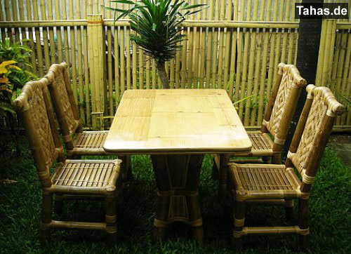 Tahas Bambusmöbel Rattanmöbel Gartenmöbel Gastromöbel