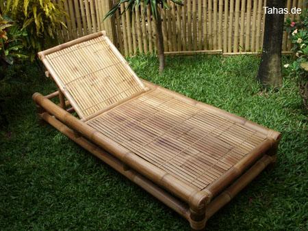 bambusliege f r heim garten sauna tahas
