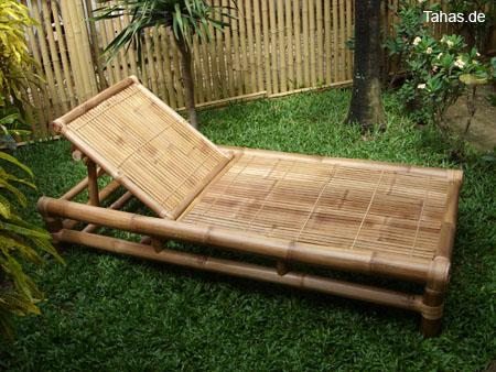 bambusliege f r heim garten sauna tahas. Black Bedroom Furniture Sets. Home Design Ideas