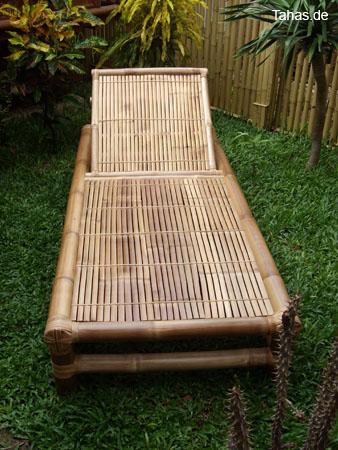 Bambusliege Für Heim Garten Sauna Tahas