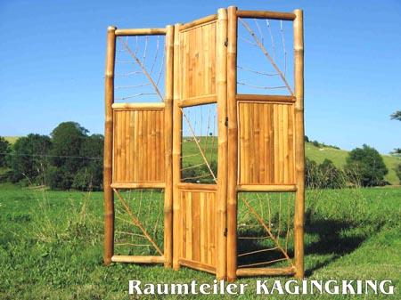 bambus raumteiler spanische wand aus bambus tahas. Black Bedroom Furniture Sets. Home Design Ideas