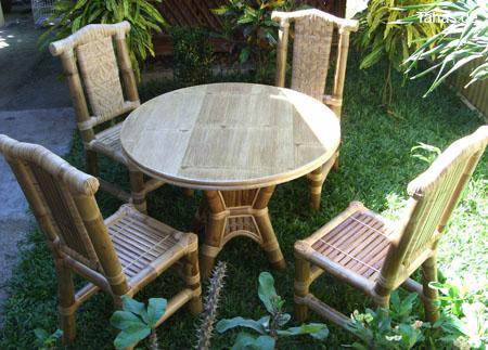 bambusstuhl f r heim garten mit einzigartigem design tahas. Black Bedroom Furniture Sets. Home Design Ideas