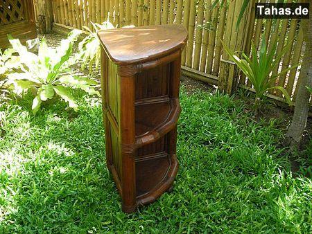 g nstiges bambusregal f r bad k che bambus eckregal tahas. Black Bedroom Furniture Sets. Home Design Ideas